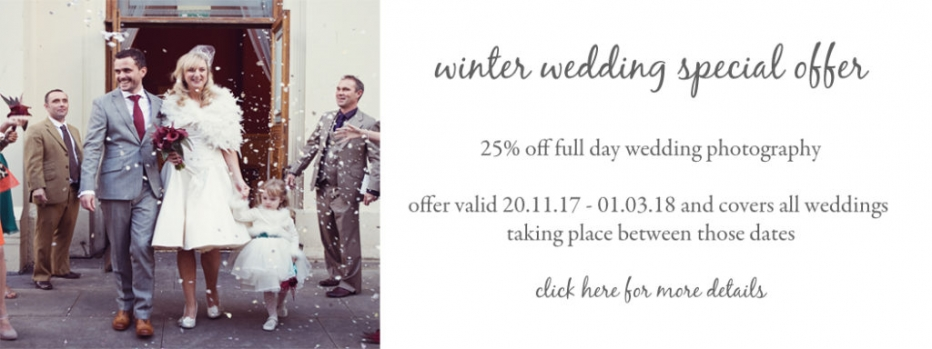 winter wedding photography offer sussex