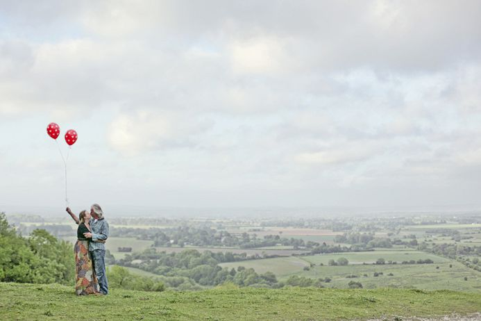 sussex downs couple shoot