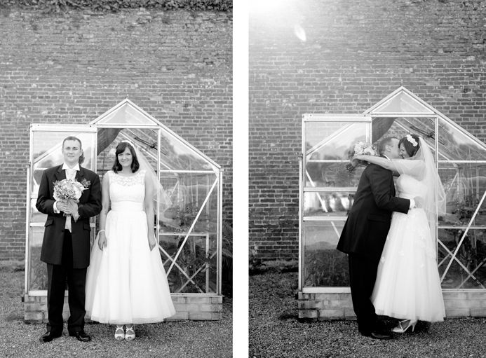 Walled Garden Cowdray Wedding