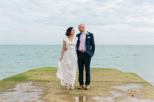 Brighton Seafront Wedding, local wedding photographer