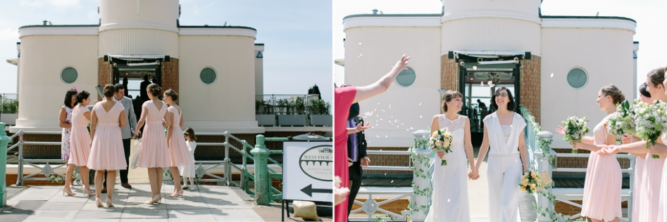 Brighton Alfresco wedding