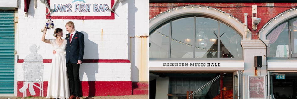 alternative beach wedding venues in Brighton