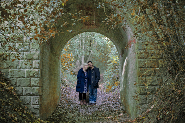 autumn pre-wedding shoot sussex