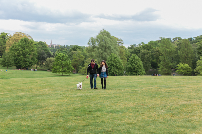 hampstead Heath Pre-Wedding Shoot